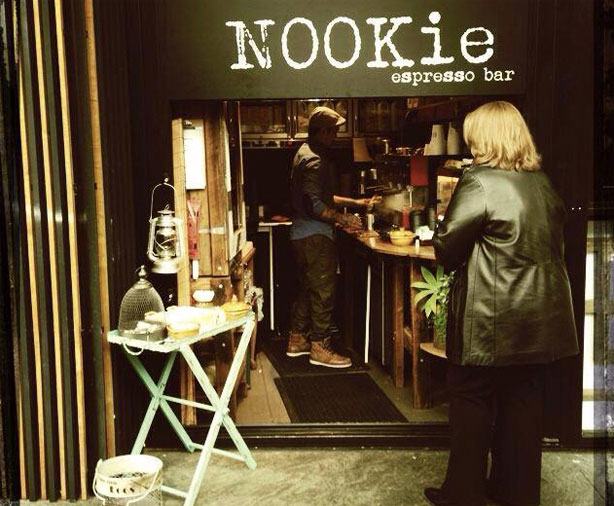 Nookie Espresso Bar in Garema Place.