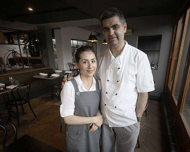 Erkin Esen and wife Ziba, the faces behind Pomegranate (ex-European). Image by This is Canberra.