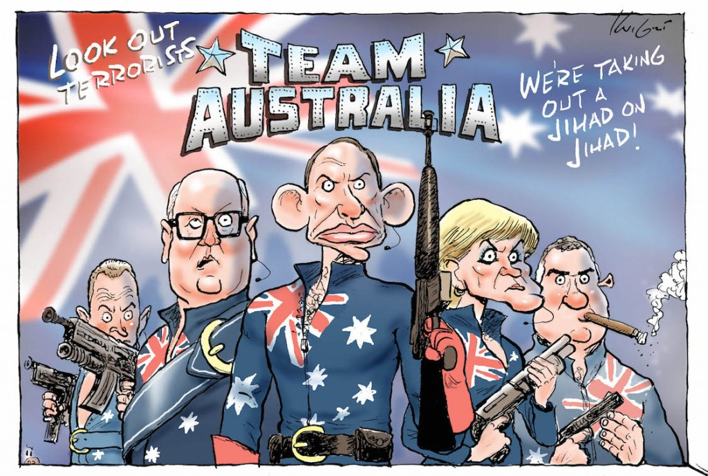 Team Australia - Mark Knight