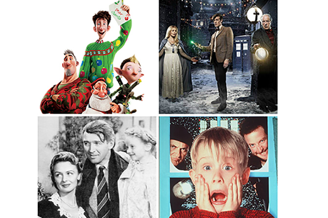 christmas films feature