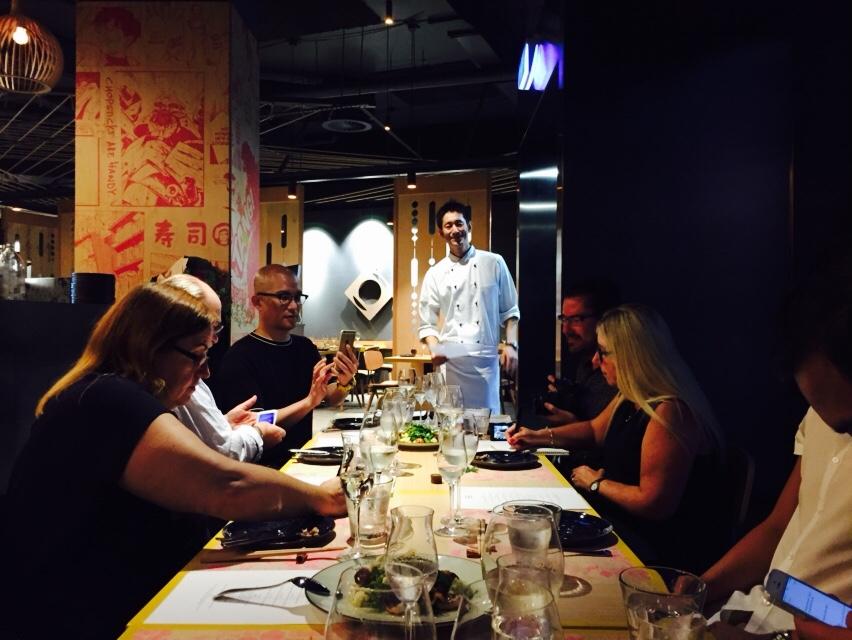 Shunsuke Ota (ex sous chef at Nobu Melbourne) heads the kitchen at Lilotang.