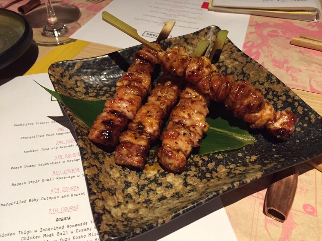 Chicken Thigh with Inherited Homemade Yakitori Sauce