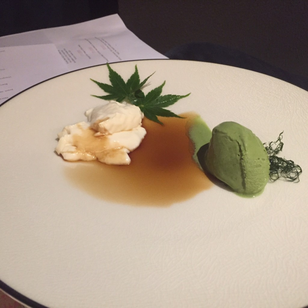 Maccha Green Tea Cheese Cake