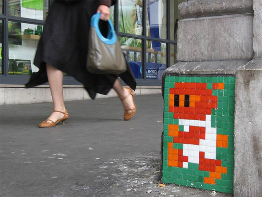 Street Art - The Invader