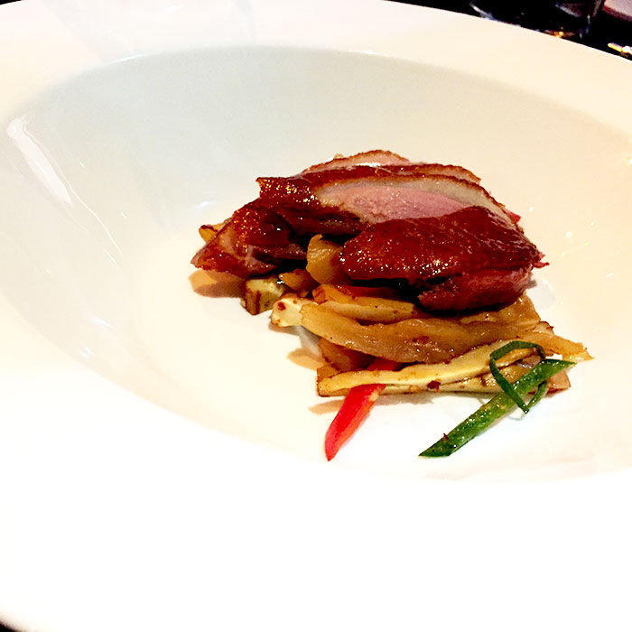 Xian style spiced duck.