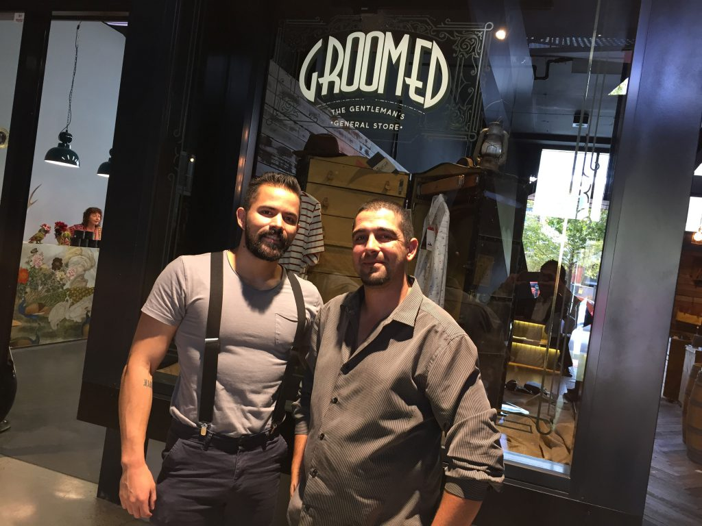 Steve and Steve from Groomed.