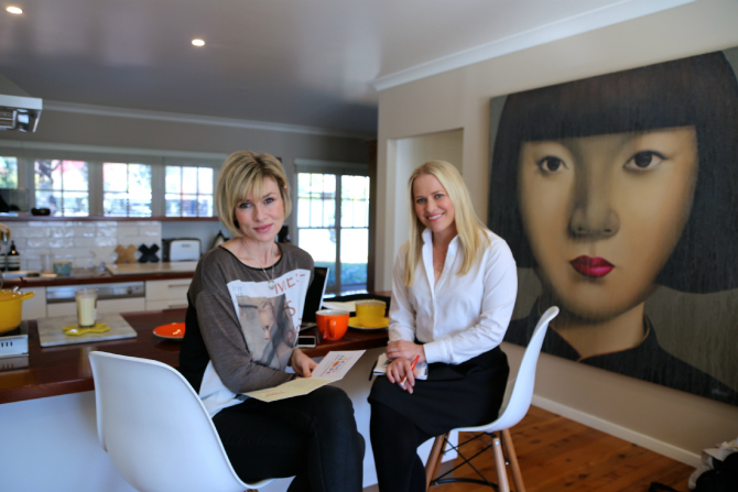 Send Hope's founders Emma Macdonald and Tara Taubenschlag