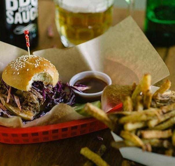 Smoque's original sandwich. Image: Smoque.