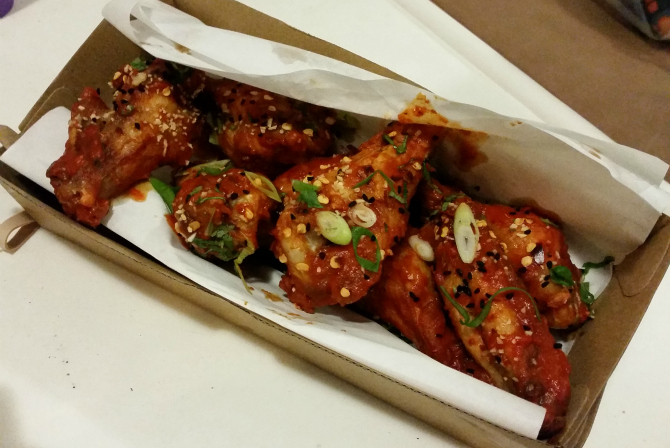 Mandalay's fried wings–sticky deliciousness