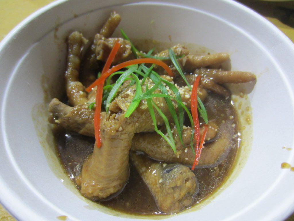 Chicken feet yum cha style