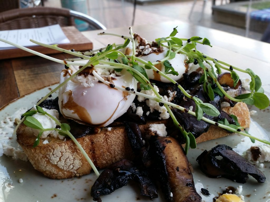 The Field: Mushrooms and truffles and eggs, oh my!