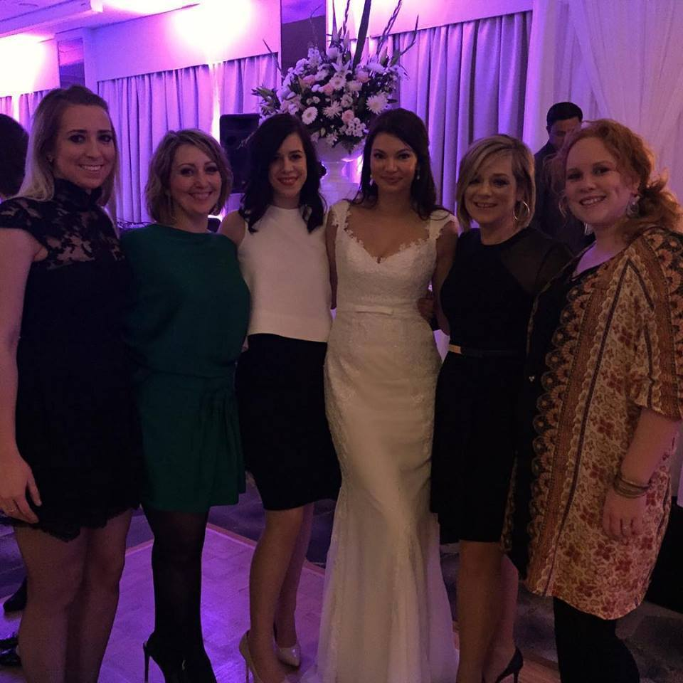 The HC Team at Laura's wedding.