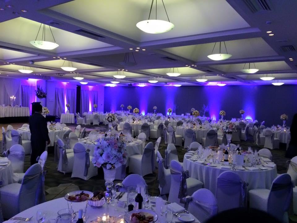Showpony styled the wedding.