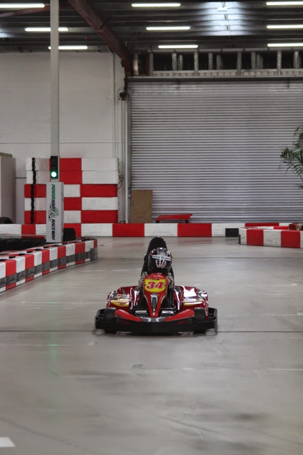 Power Kart racing is great for the speed freaks!