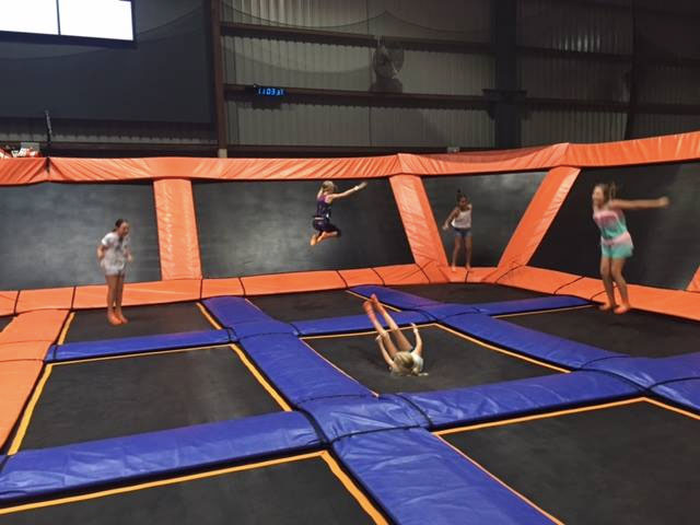 Skyzone has great party packages (maybe save cake for after the jumping!)
