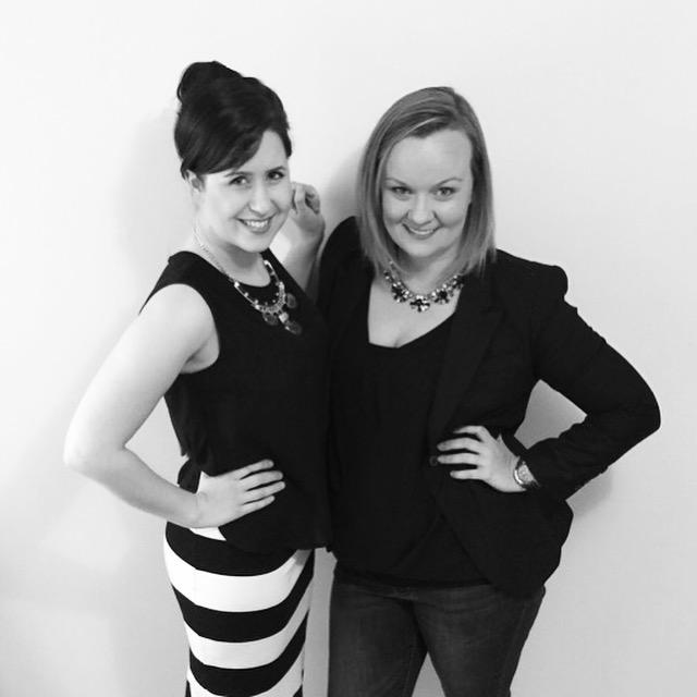 Canberra entrepreneurs Georgia King and Amy Nerio.