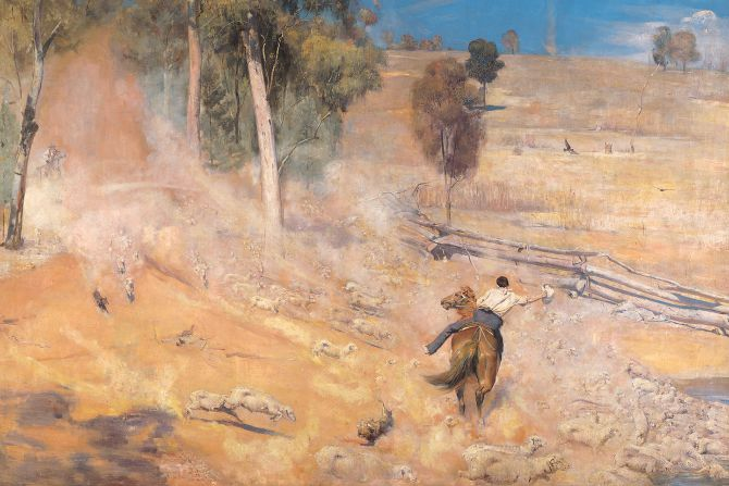 Tom Roberts at the National Gallery of Australia