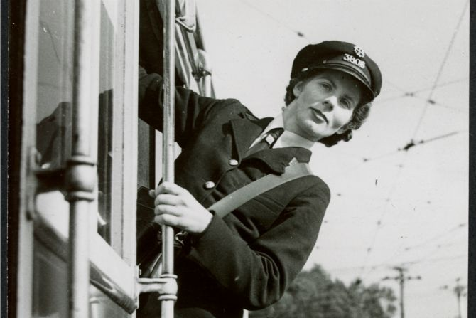 WW2 Female Conductor