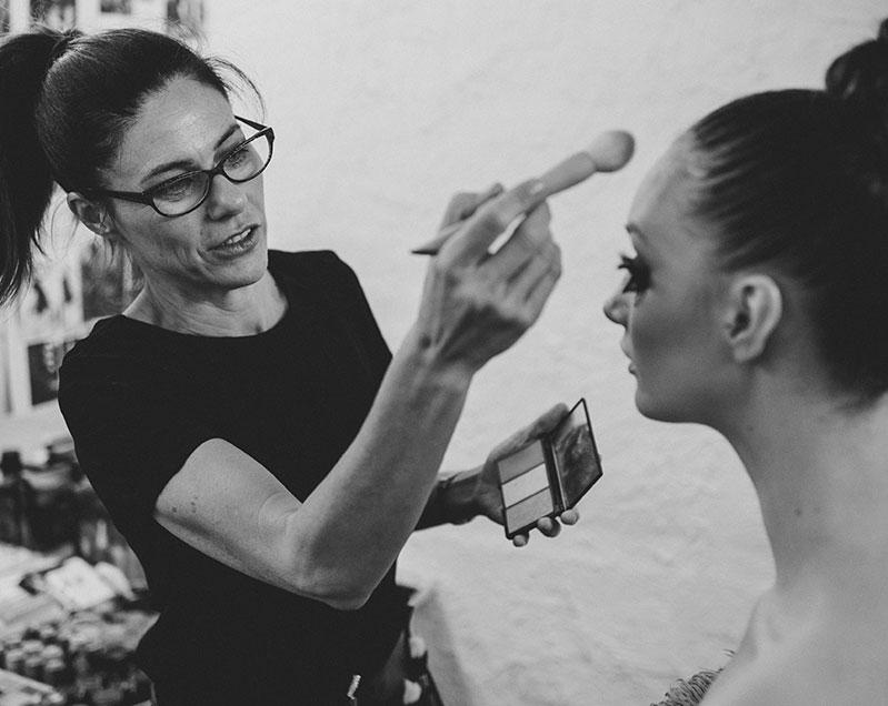 Ali Price, Make Up Artist Extraordinaire.