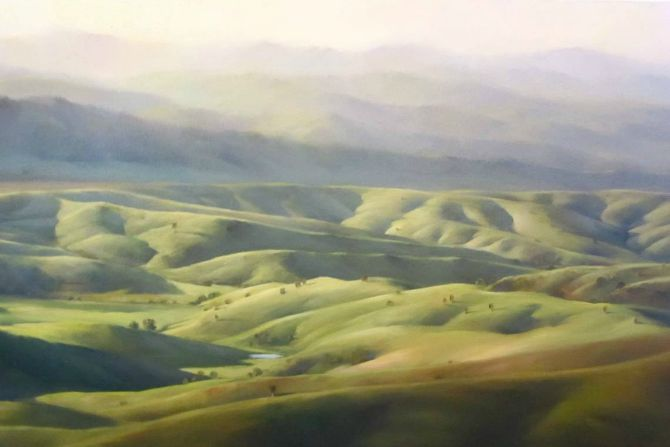 painting hills