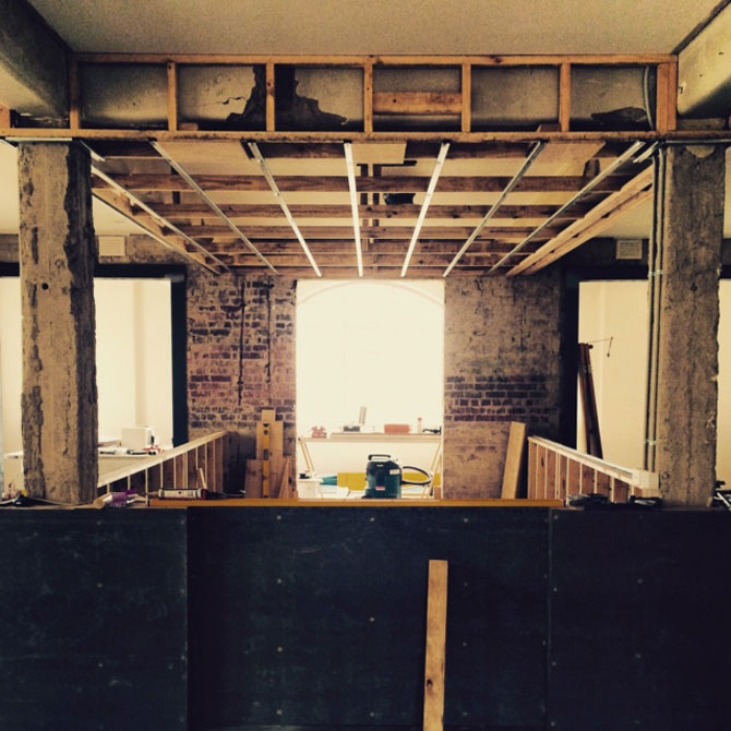 Bar Rochford under construction. Image: supplied.