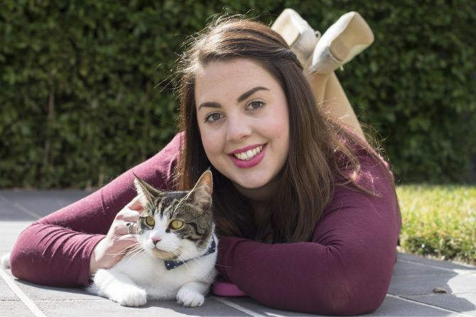 Alexandra and Robinson for Canberra Cat Fix. Image: Michelle Doherty.