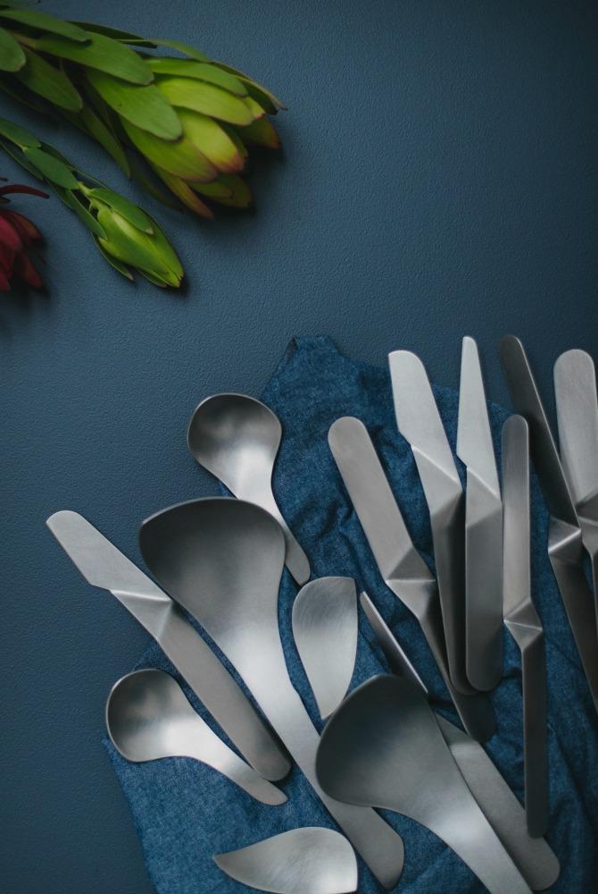 Handmade tableware by Alison Jackson. Image: Christine Pobke