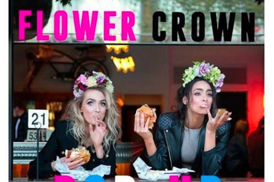 flower crown pop up