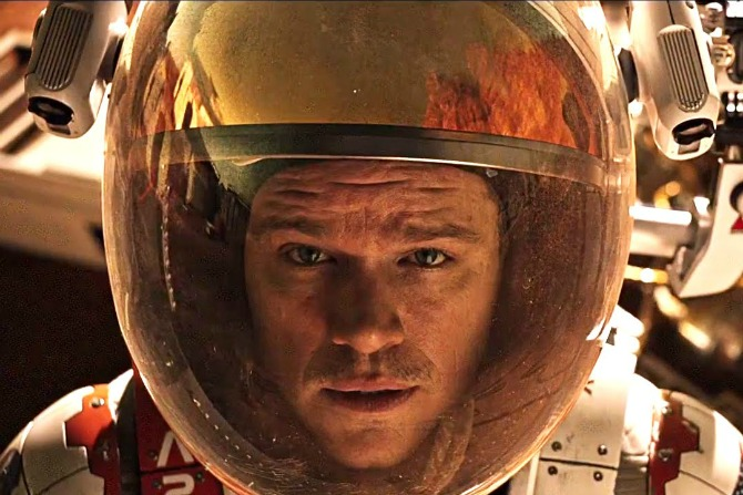 the martian feature