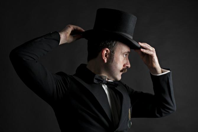 moustache man feature