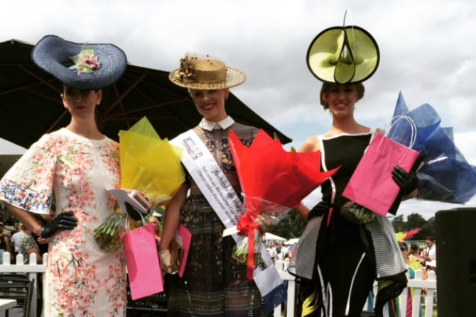 Fashions on the Field from the Black Opal Stakes