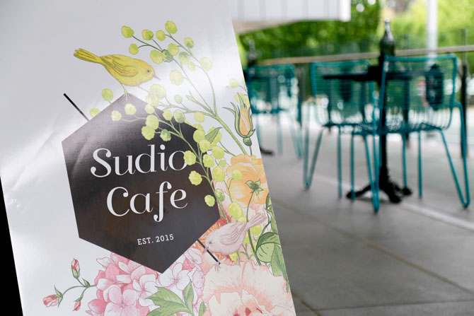 Sudio Cafe. Image: Ashley St George.