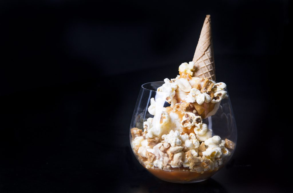 popcorn ice cream buttery popcorn ice cream ice cream sundae ice cream ...