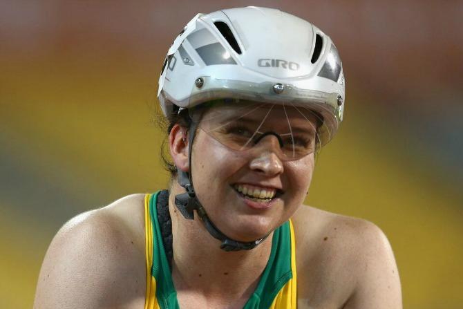 Canberra's Angie Ballard.