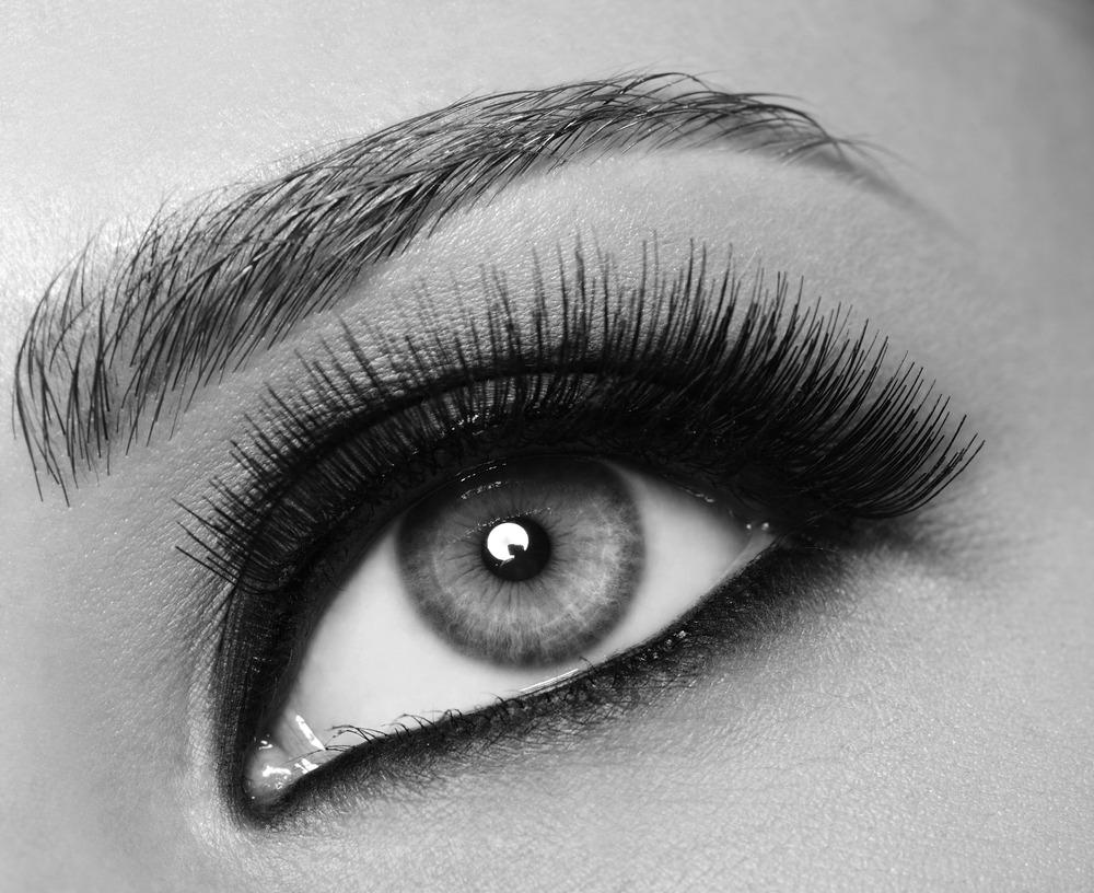 make up dramatic eye feature