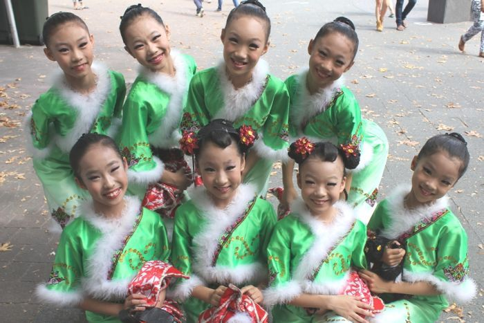 Chinese performers at the Multicultural Festival 2015. Image via abc.com.au