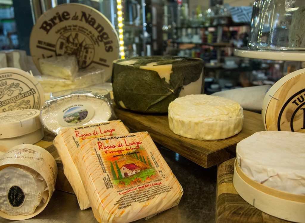 Photo #2 caption: Inside the cheese room at Essential Ingredient