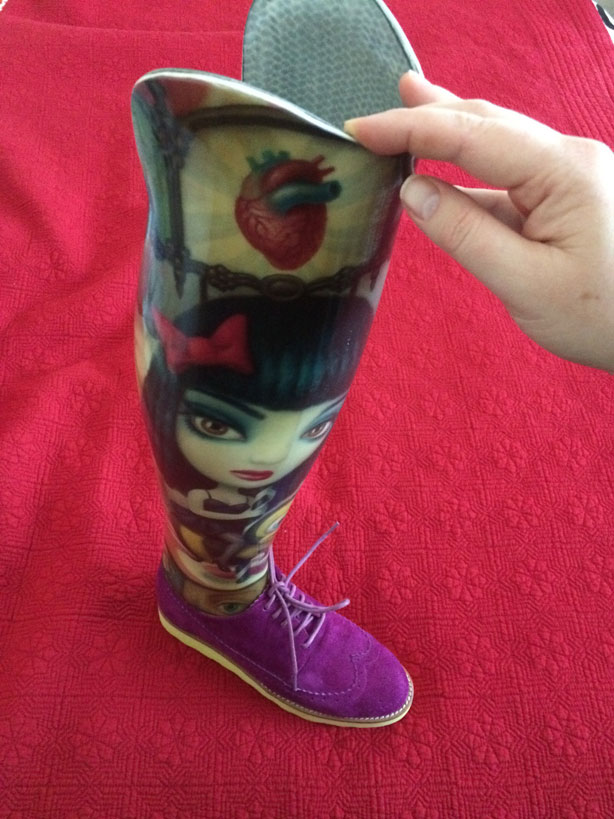 Priscilla's Prosthetic, featuring the artwork of Mark Ryden.