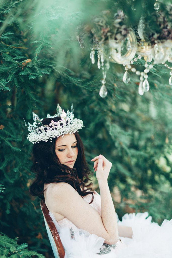 Fairytale woodland wedding inspiration photography by Miss Gen, destination wedding photographer.