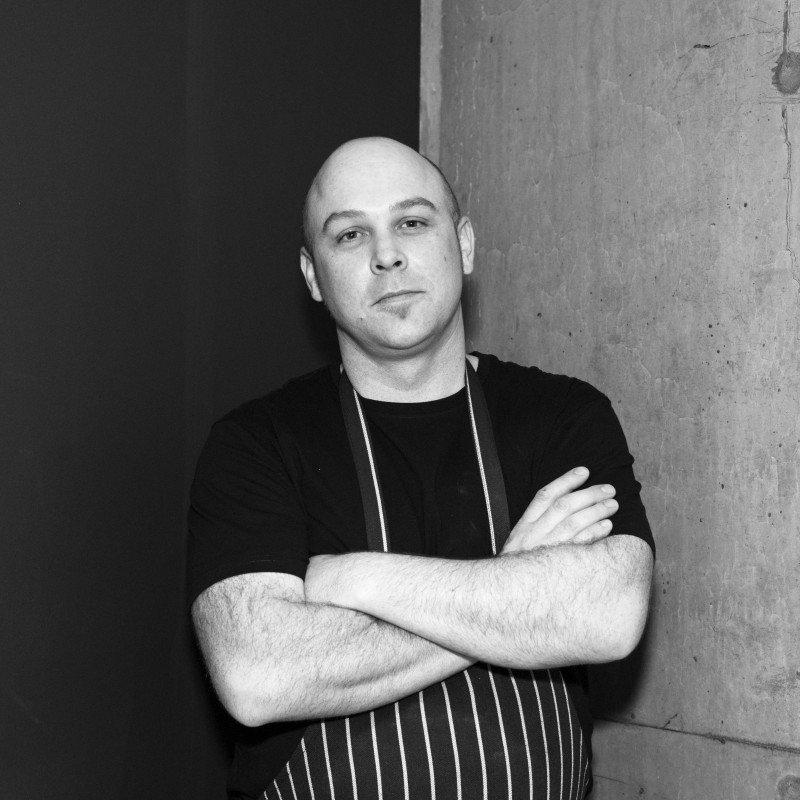Monster chef Dan Flat