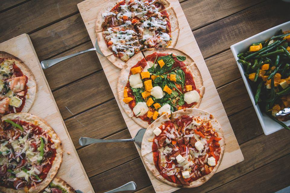 Wandering Woodfire Oven pizzas