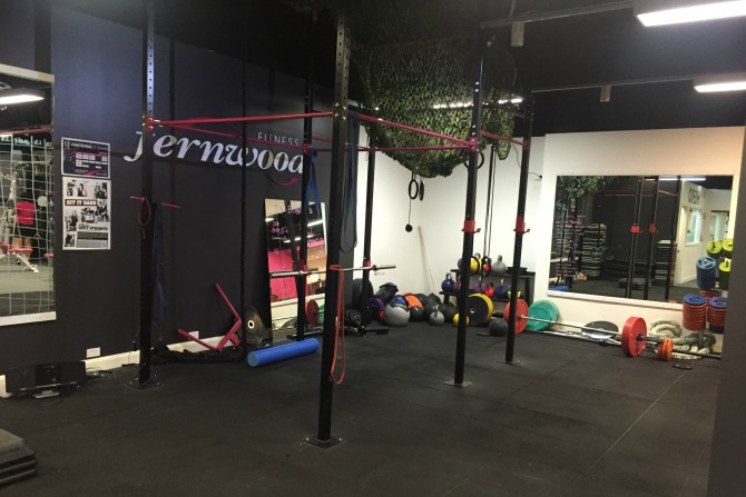 Fernwood Canberra City's dedicated functional fitness space