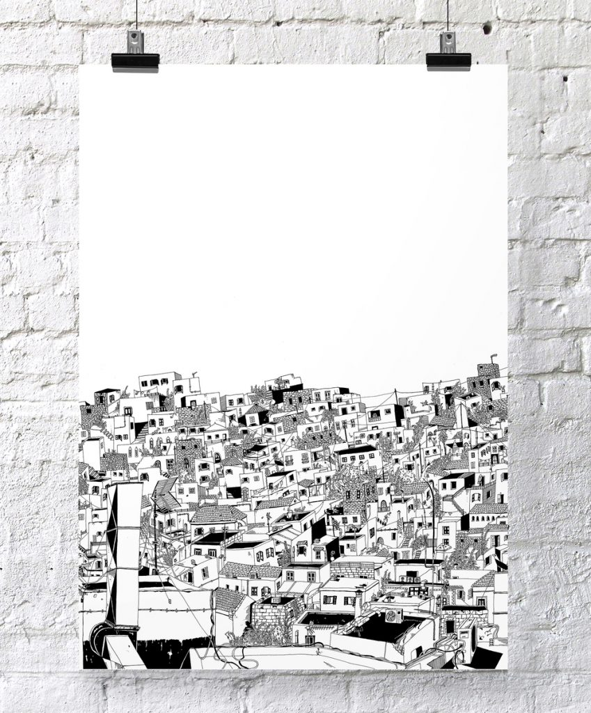 larger_Lindos_screenprint+poster_chrysa+koukoura