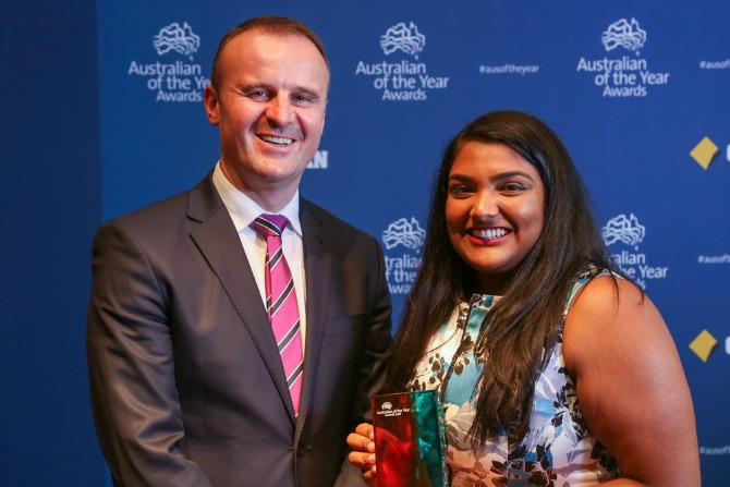 2106 ACT Australian of the year Awards, Gandel Hall, National Gallery of Australia, 2nd November, 2015 for ACT Government and National Australia Day Council