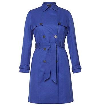 DL Astor Trench Coat in Cobalt $349.00