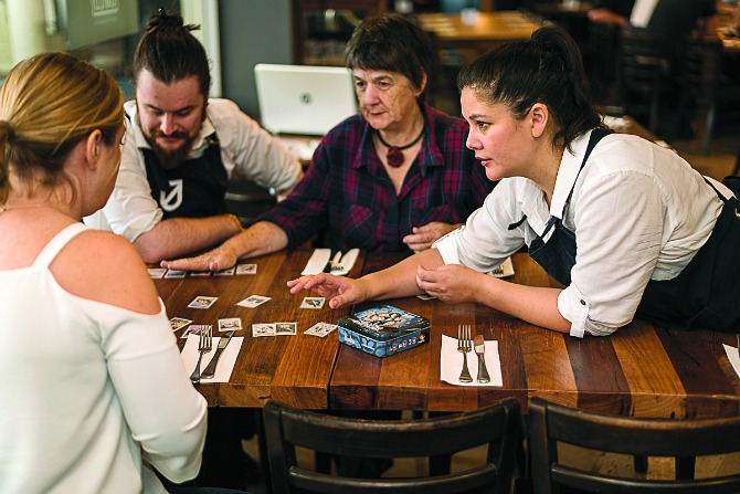 Boardgames rule at Guild. Image: Tim Bean Photography.