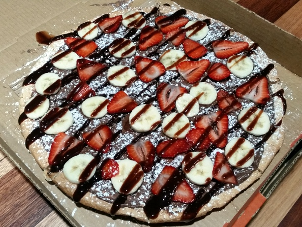 Walter G's Nutella Pizza.
