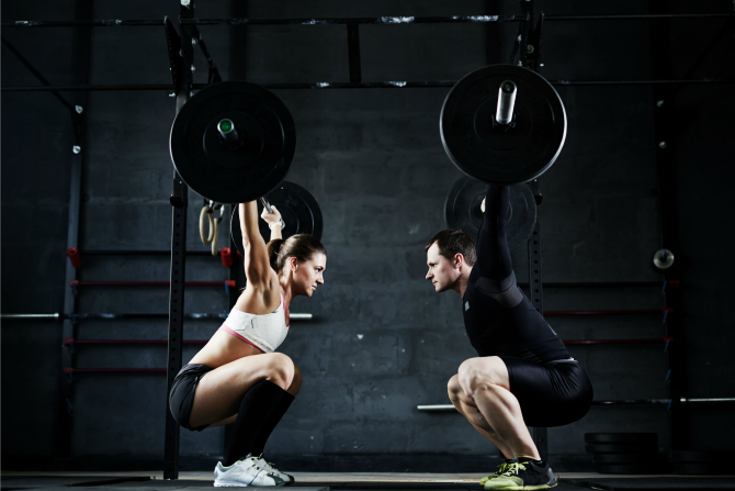 lifting weights woman feature