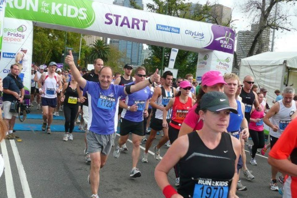 Dad Race Pic