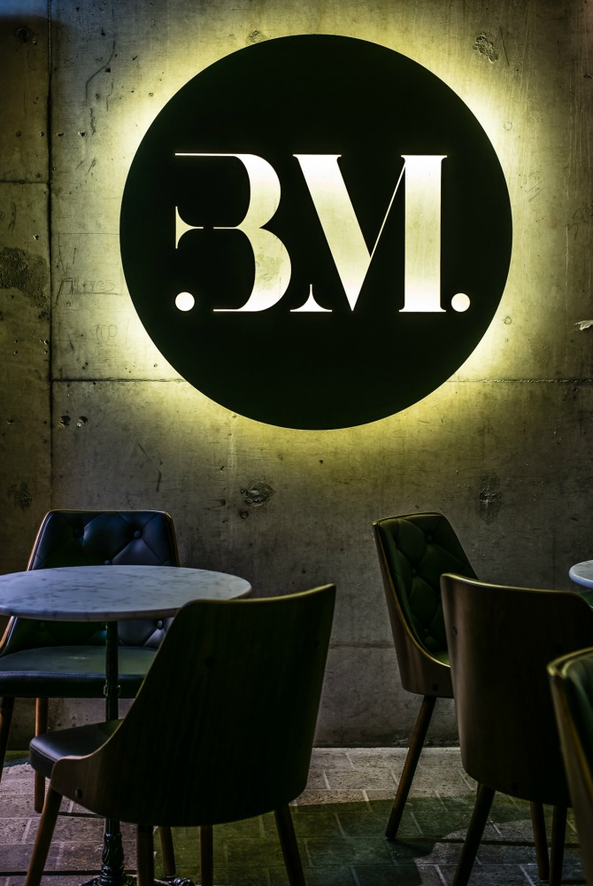 Black Market's intimate interiors. Image: Tim Bean Photography.